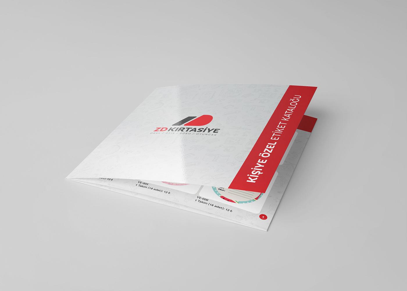 stationary branding  kurumsal ZD