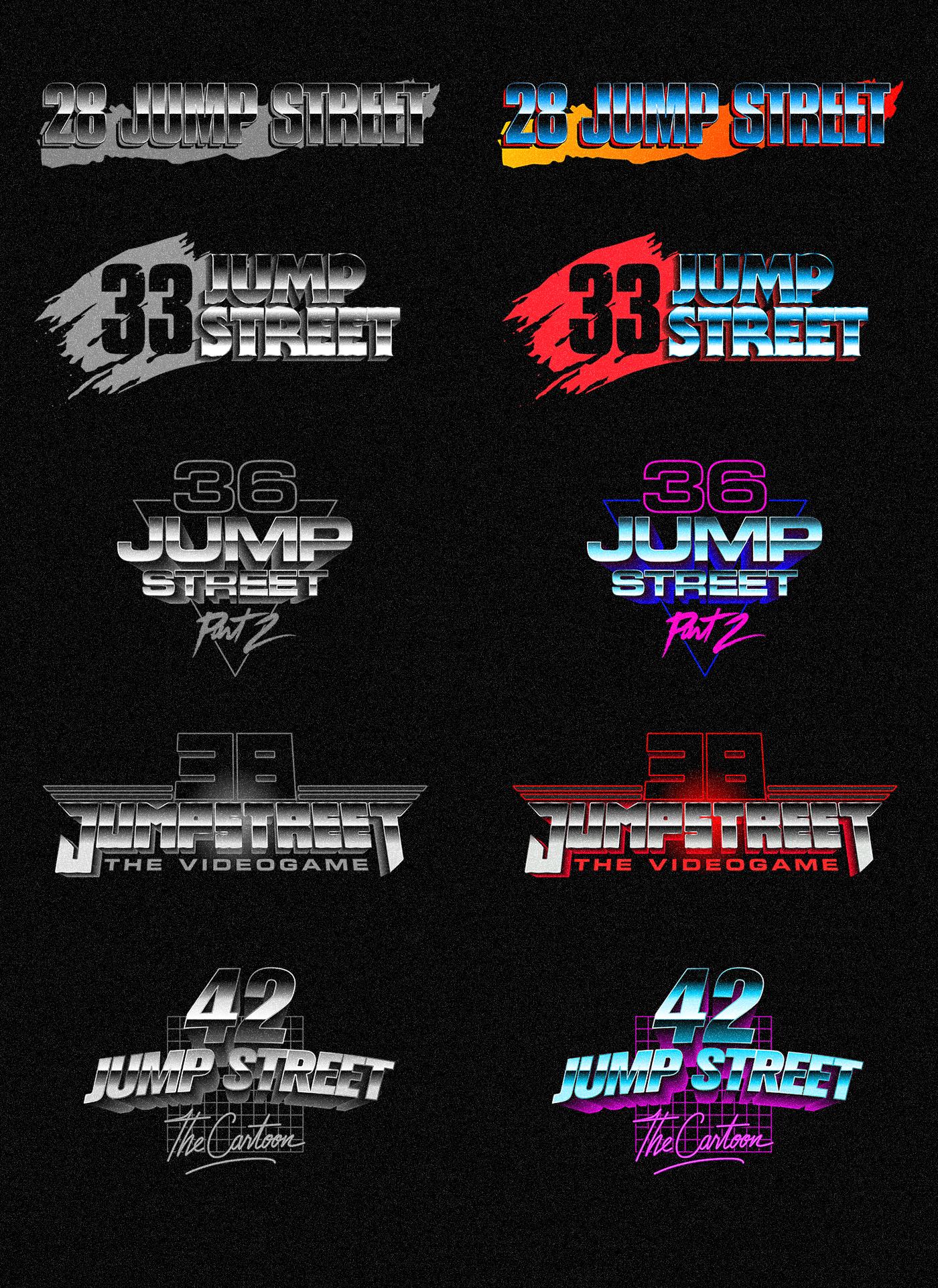 22 Jump Street Logo Design On Behance