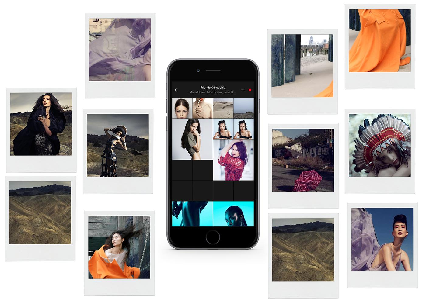 UI ux camera app ios mobile Fashion