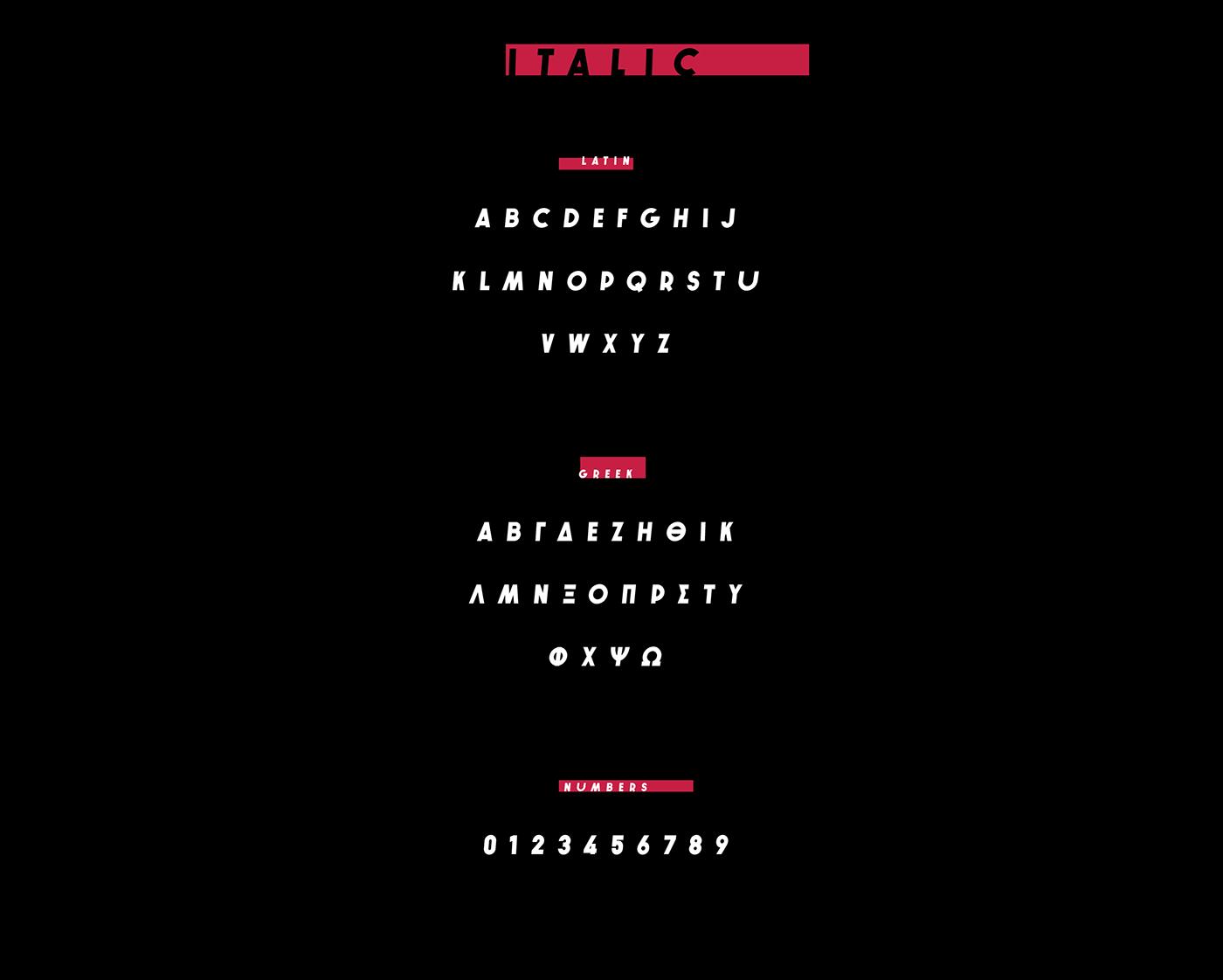 Typeface Free font bold bomb comic uppercase font design