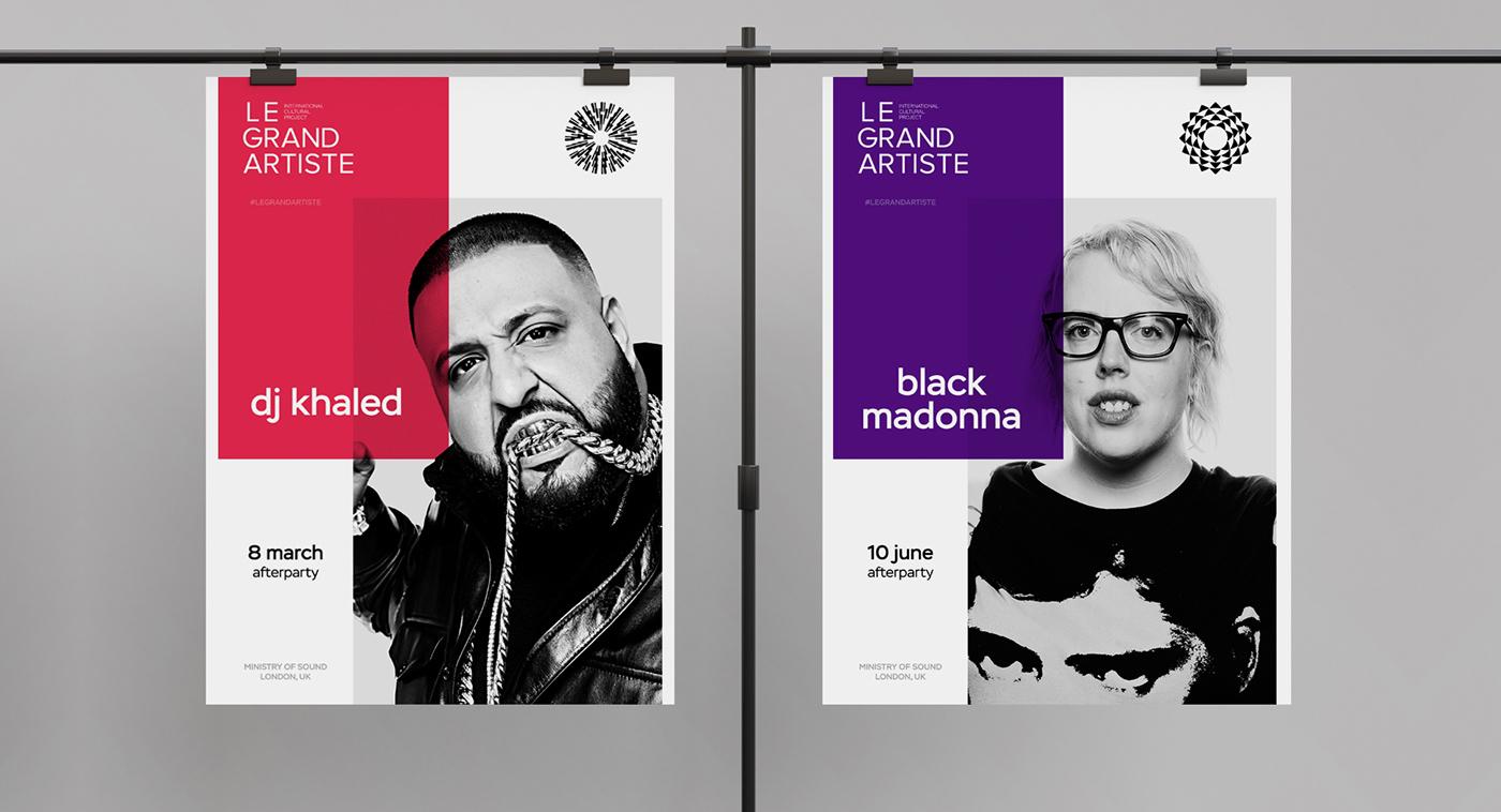 branding  identity Logotype design cultural contemporary Fashion  music Style visual language