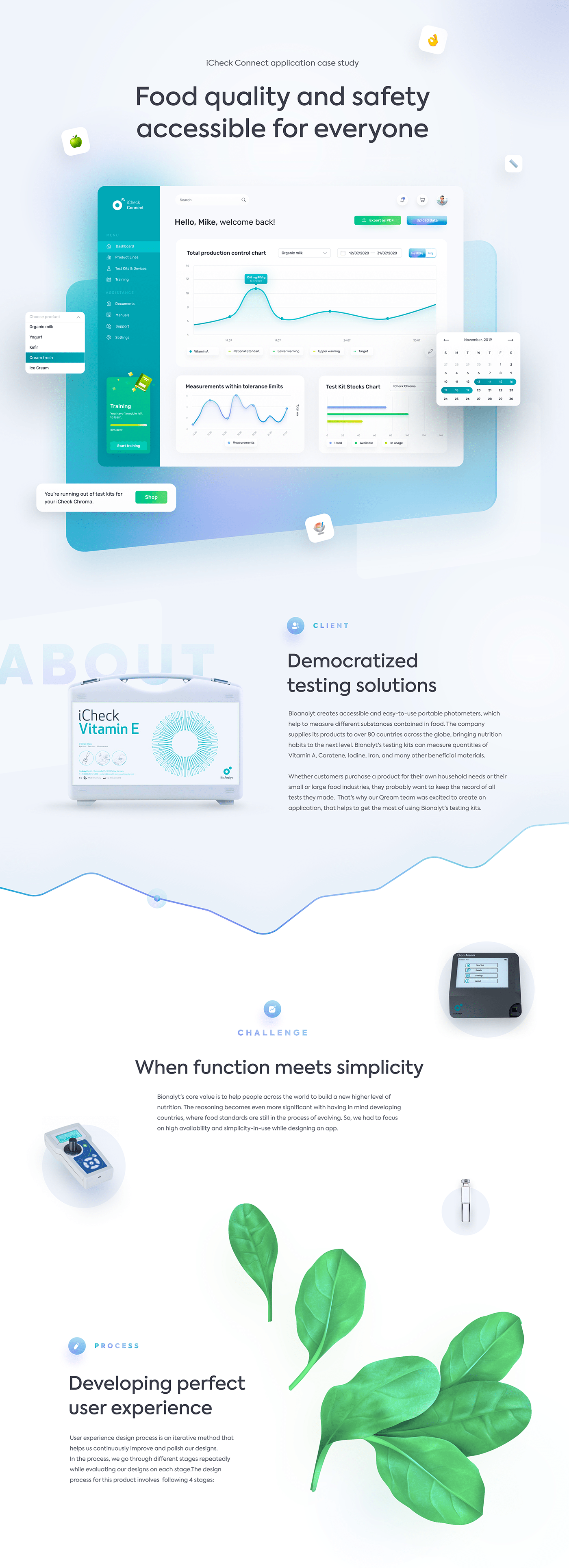 Analysis Case Study dashboard iteraction medicine UI user experience ux