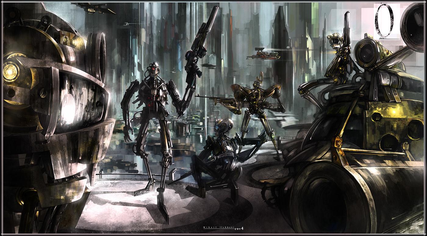 CG design Digital Art  environment fantasy future design Game Art ILLUSTRATION  painting   Scifi