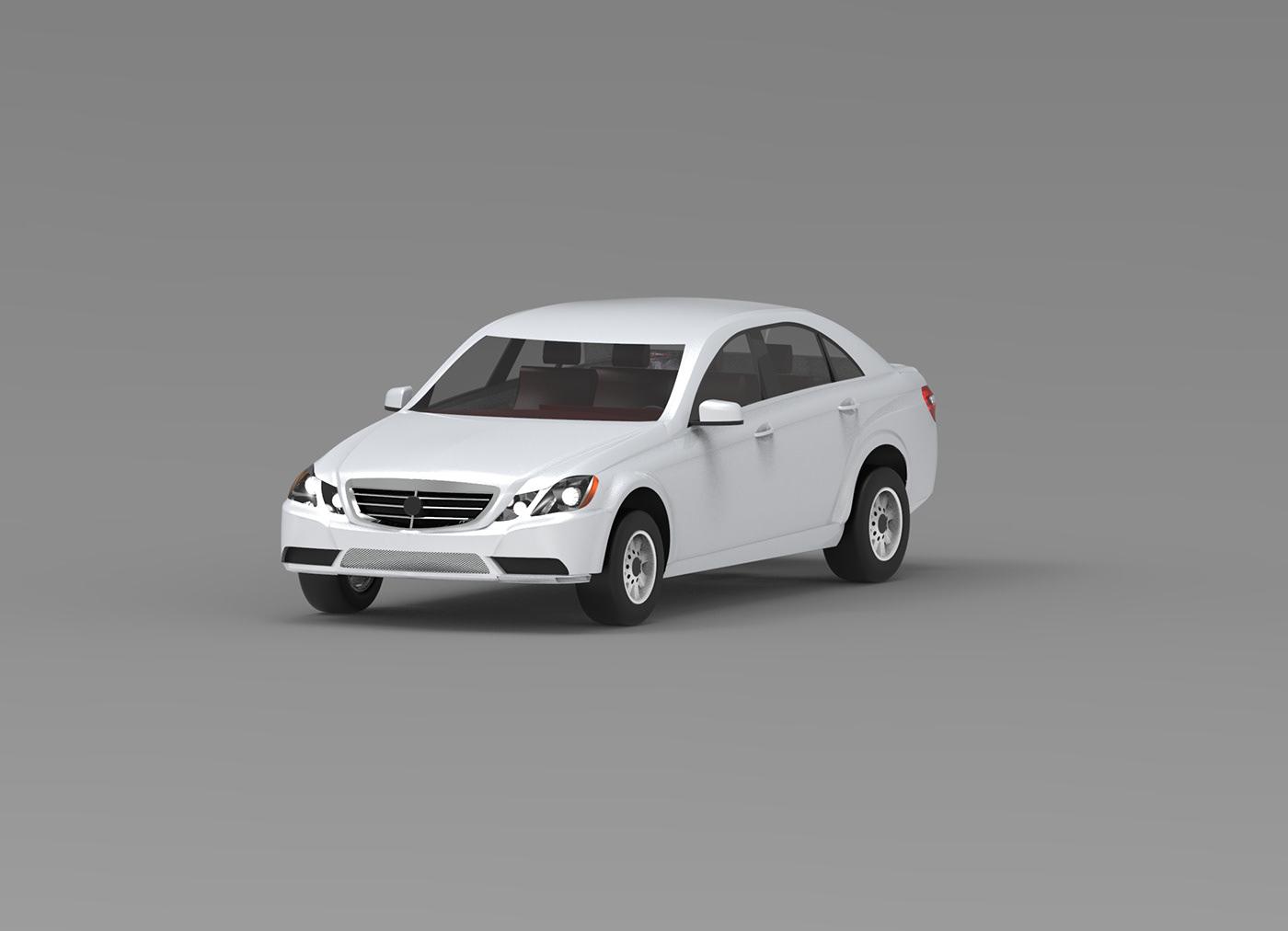 mercedes Automotive design Alias keyshot e class