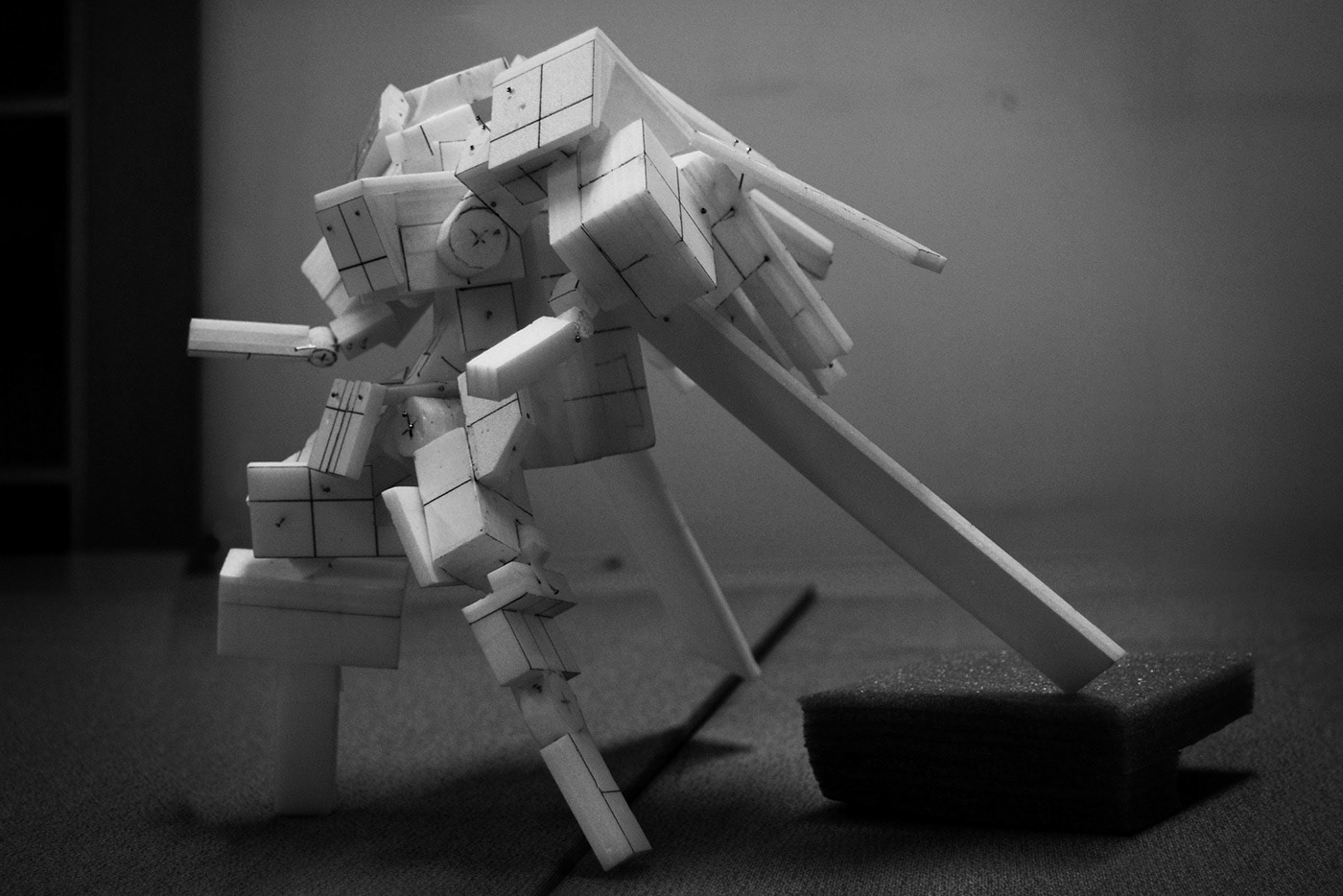 Korea robot transform Advertising  Character design  concept design craft Cyberpunk sci-fi SF