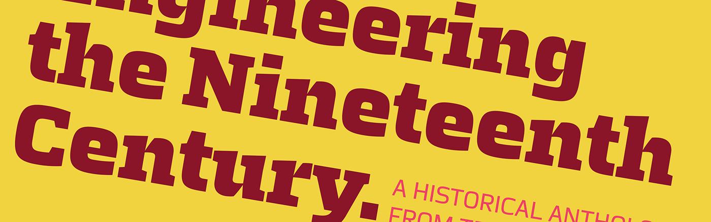 Typeface slab sans squared editorial corporate design