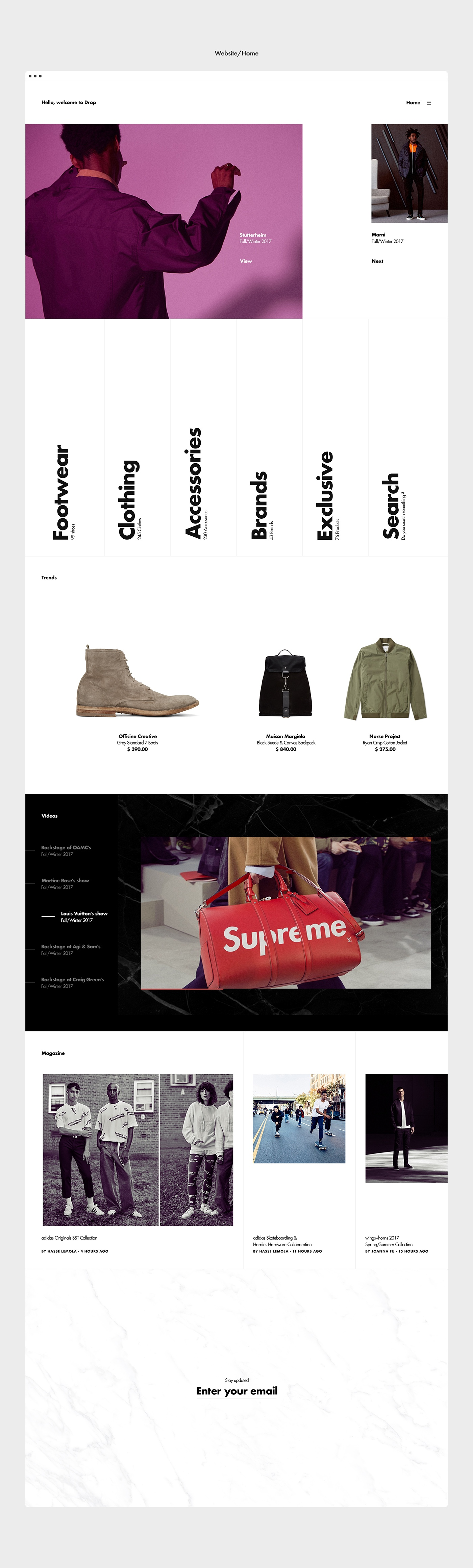 Fashion  clothes Clothing experimental concept Ecommerce Futura times sneakers Photography