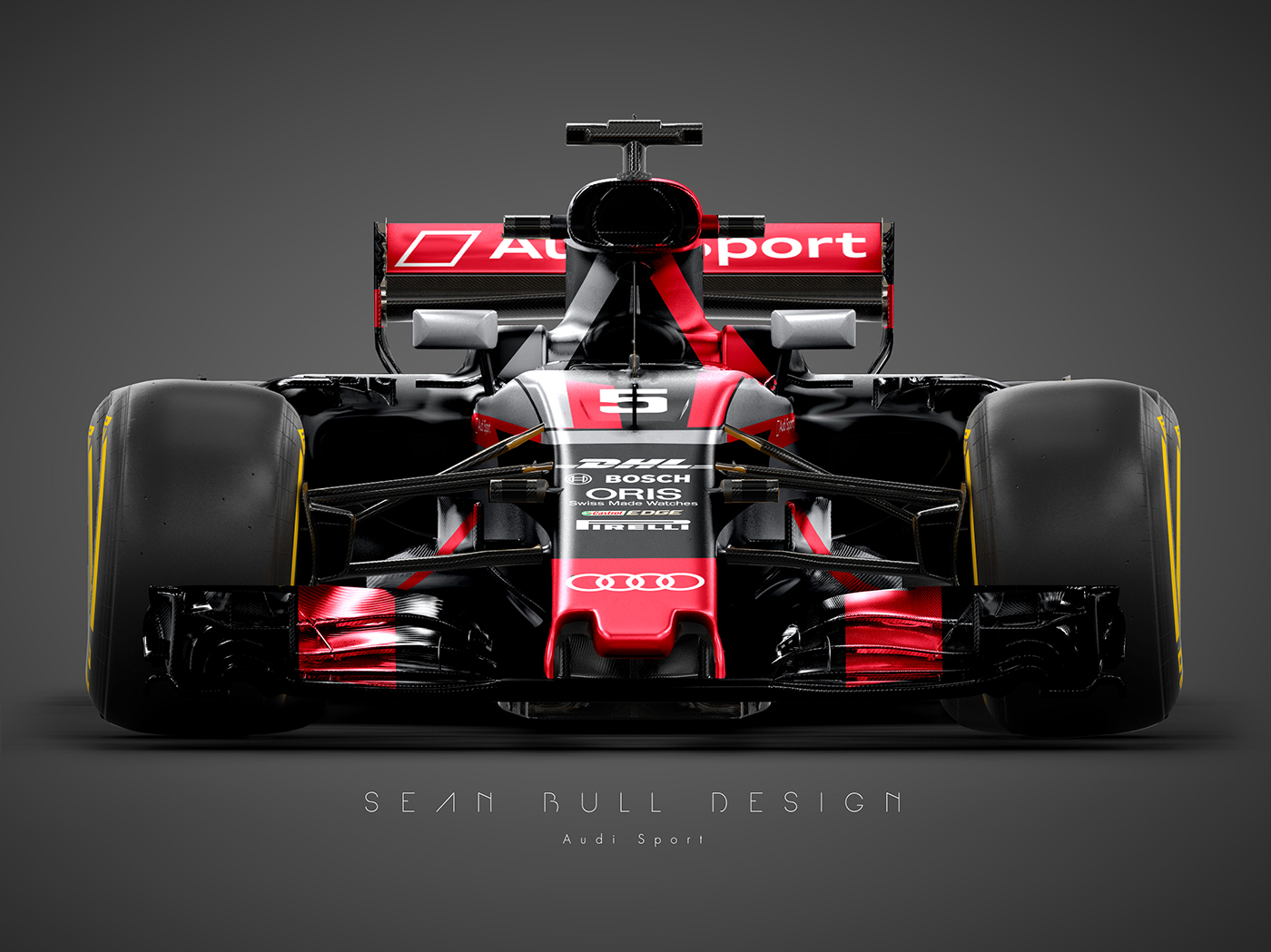 Audi Sport F1 Concept Livery On Behance