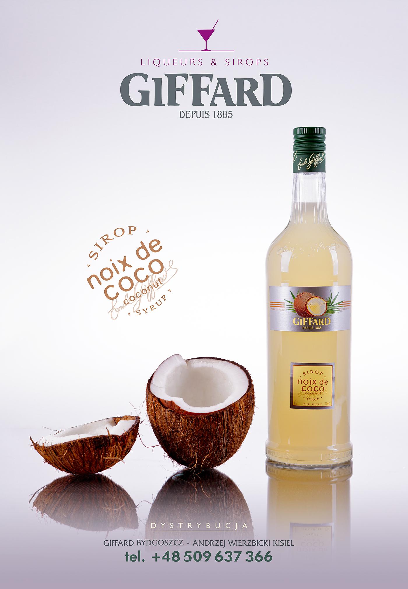 Liqueur syrup kumi studio giffard kugi watermelon pistachio peach Coconut Bourgogne photo session pics pictures photos