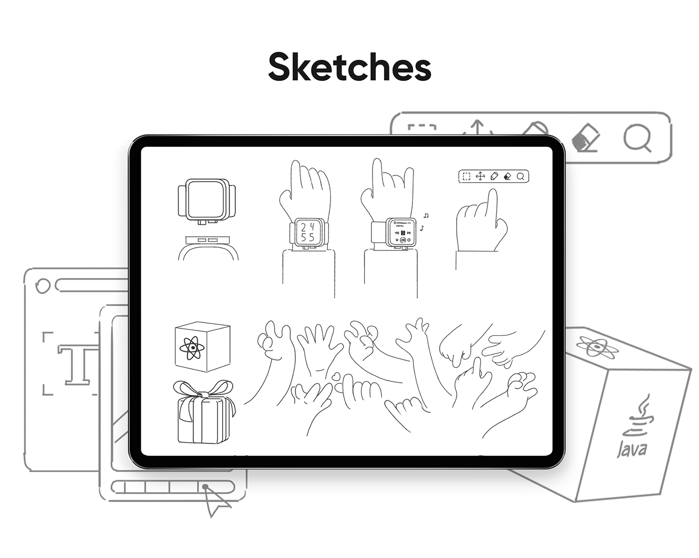 3D 3D Objects 3D UI Kit animation  ILLUSTRATION  motion design Production sketches storybord workflow