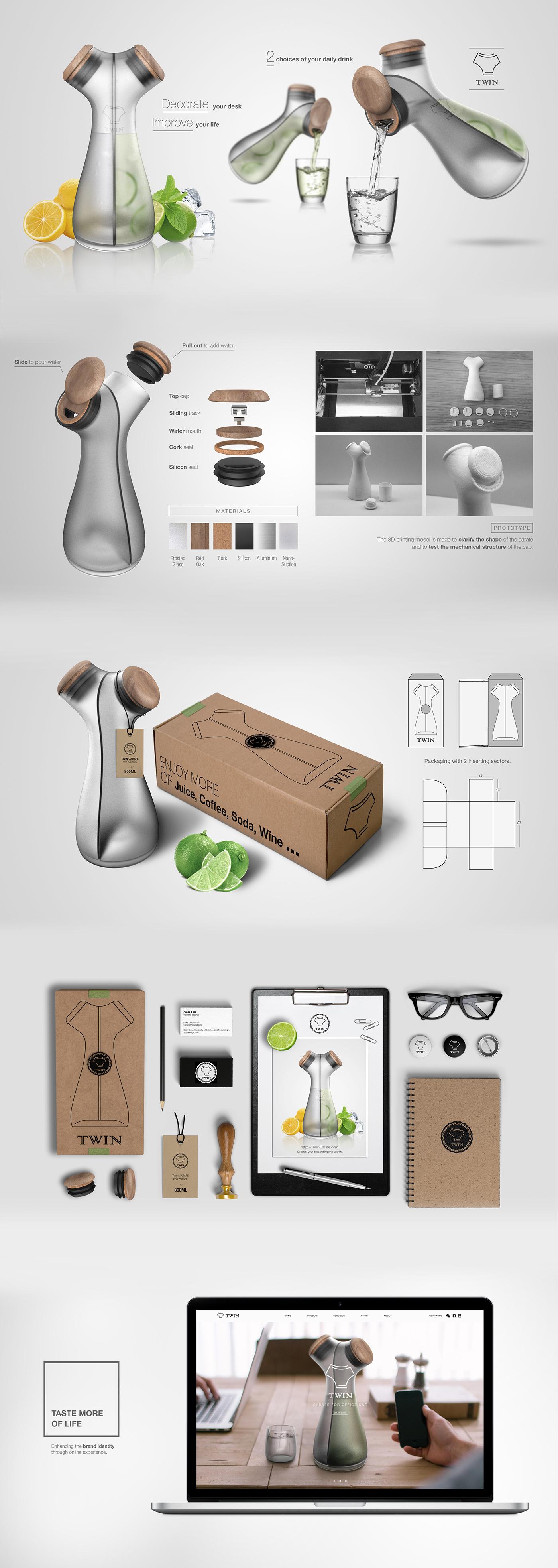 twin carafe on behance. Black Bedroom Furniture Sets. Home Design Ideas