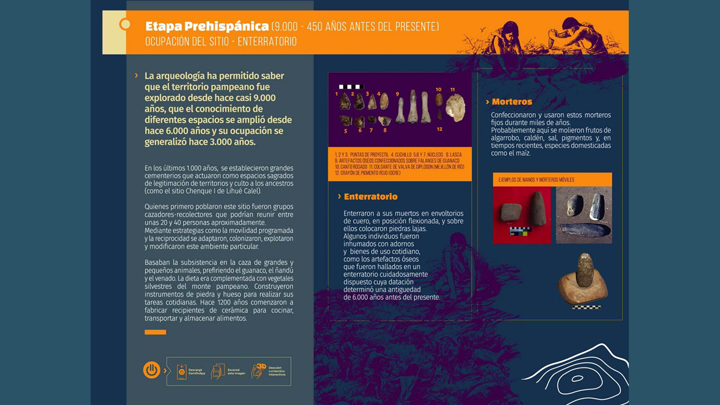 agumented reality arqueologia Arqueology camonapp diseño Identity Design museo museum realidad aumentada visual identity