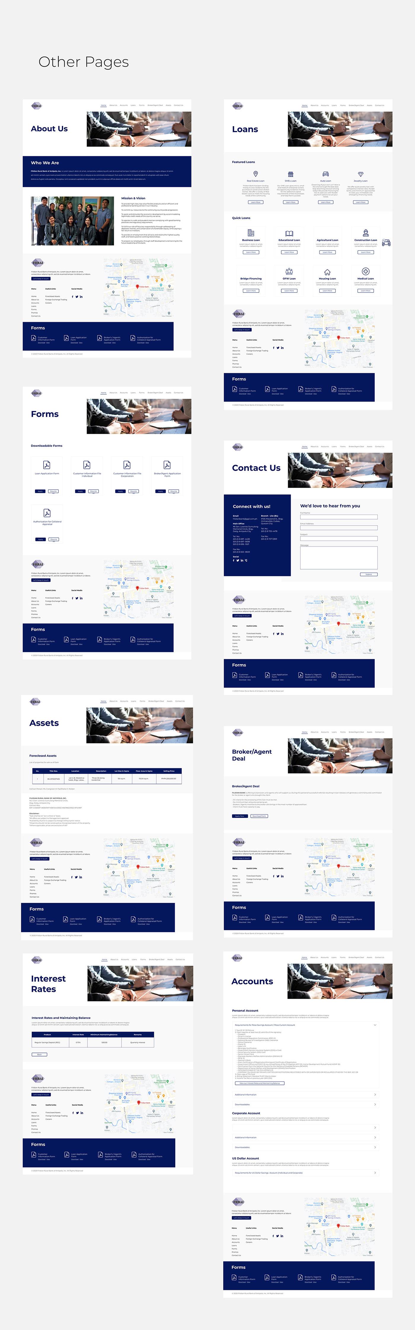 Adobe XD art san diego Bank crtved UI ux Website Design website development
