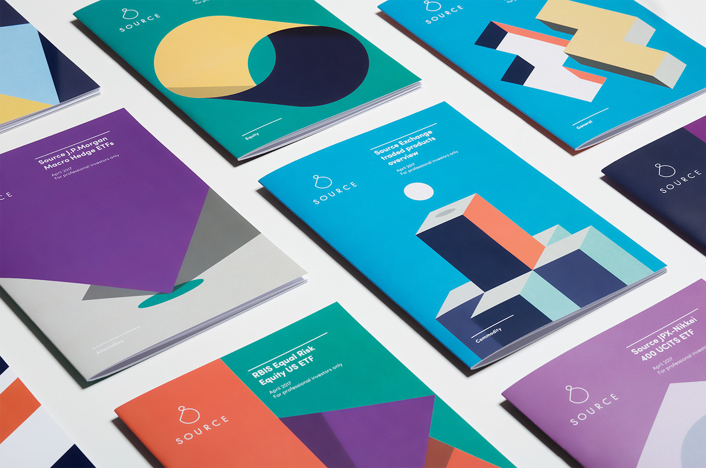 finance branding  Logo Design Source ETF Investment ILLUSTRATION  guideline Booklet businesscards