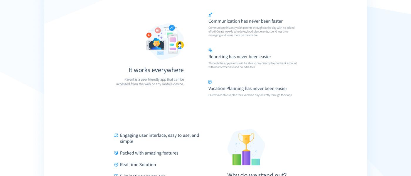 Mobile app child UI ux UI/UX sketchapp newsletter login illustrations