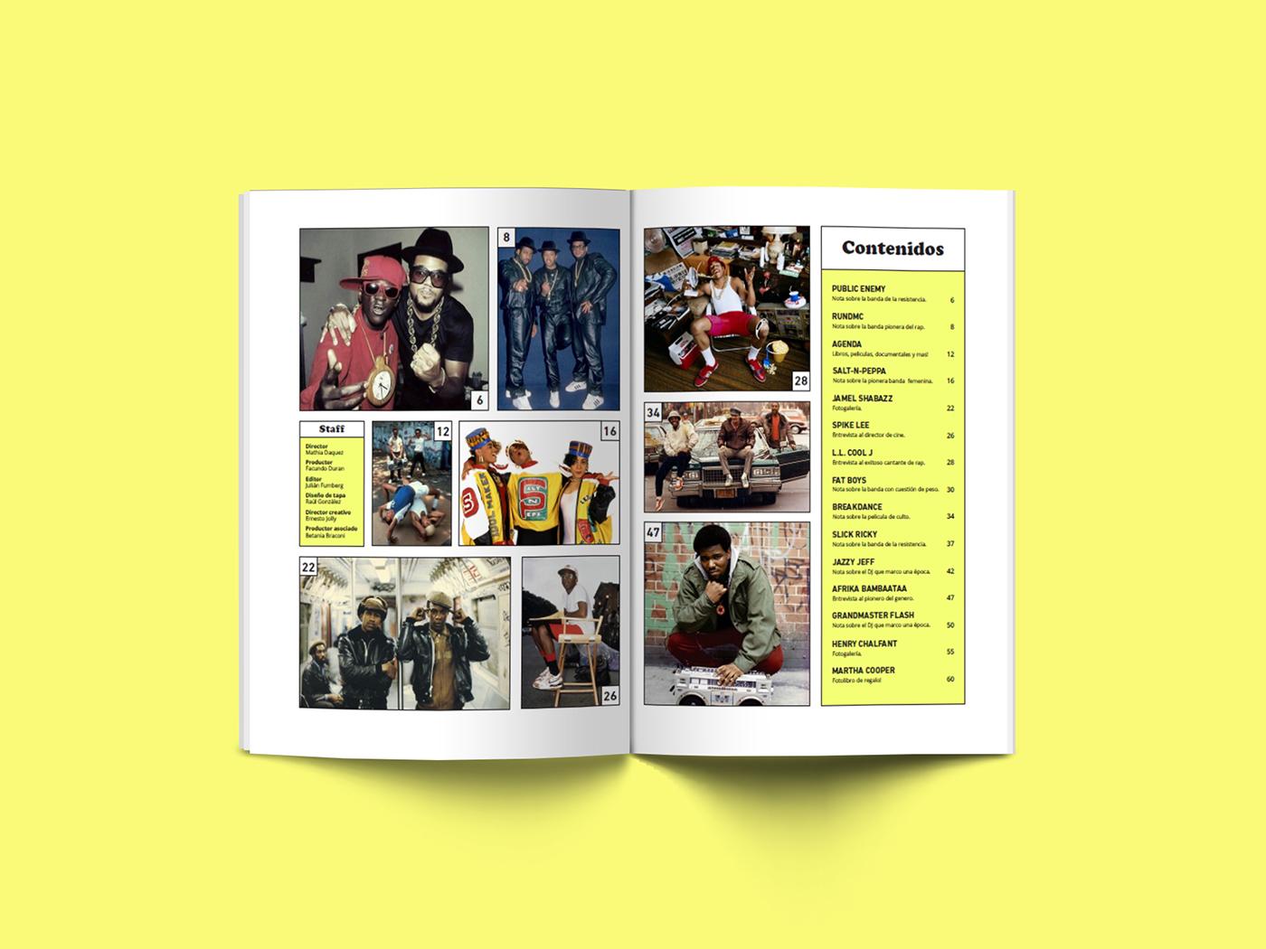 hip hop rap old school magazine run dmc editorial cosgaya