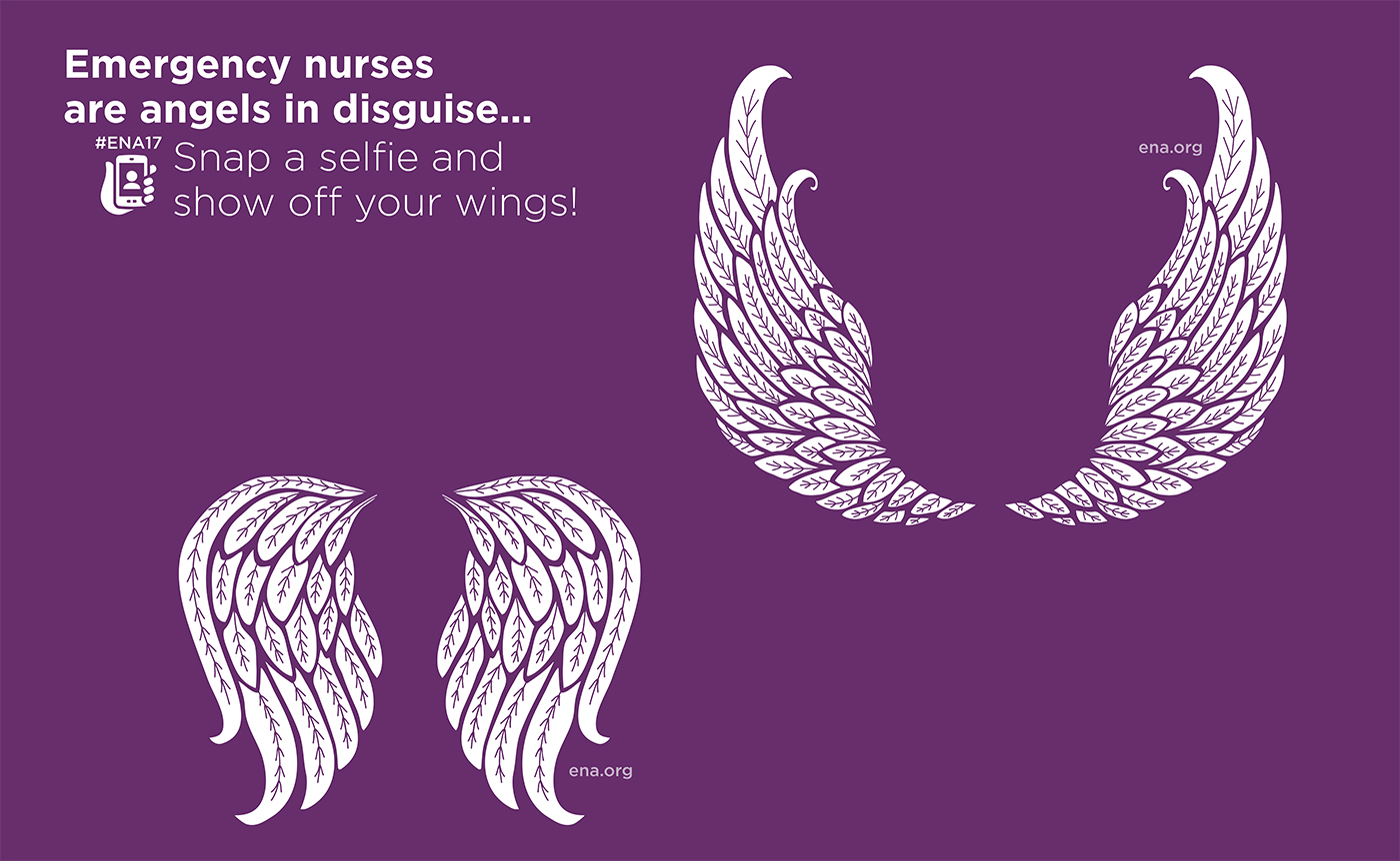 exhibit engagement wall selfie wall Emergency Nurses xgd Experiential design branded environment