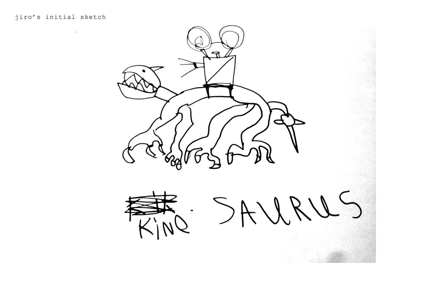 Kinosaurus On Behance