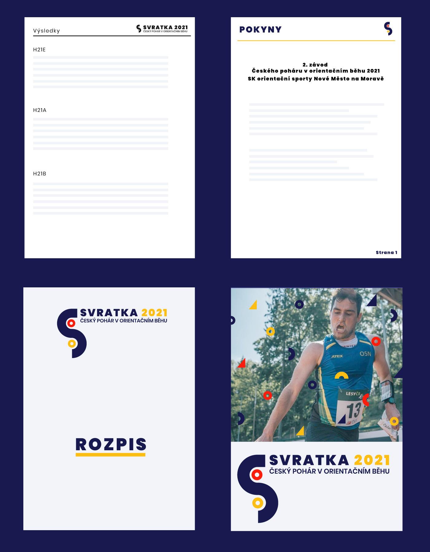 branding  logo orienteering sport