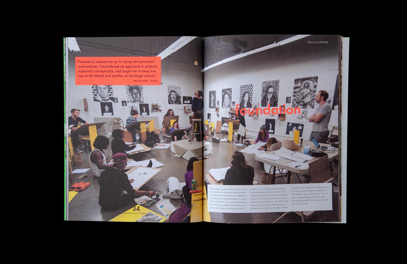 Kansas City Art Institute View Book On Behance