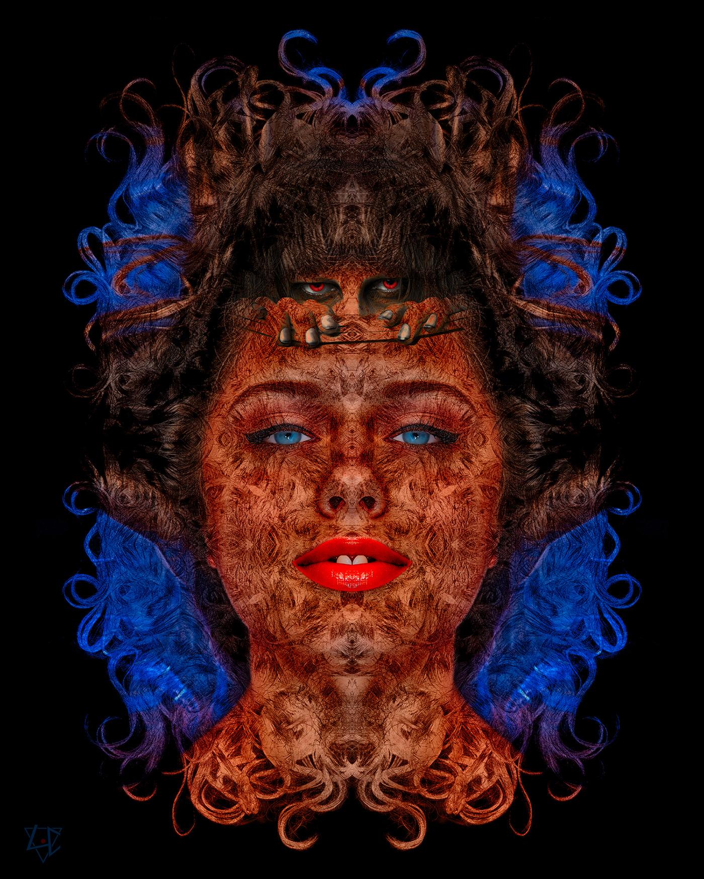 digitalart digitalcollage graphism photomontage