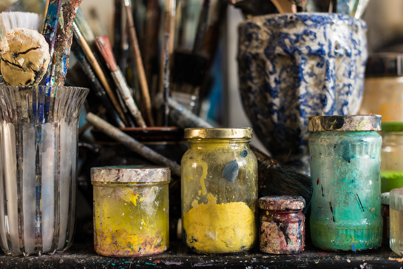 art artist artist studio color paint pigment