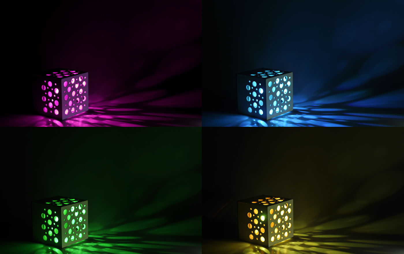 light,cube,cubo,luce,interact,Interior,color,interaction