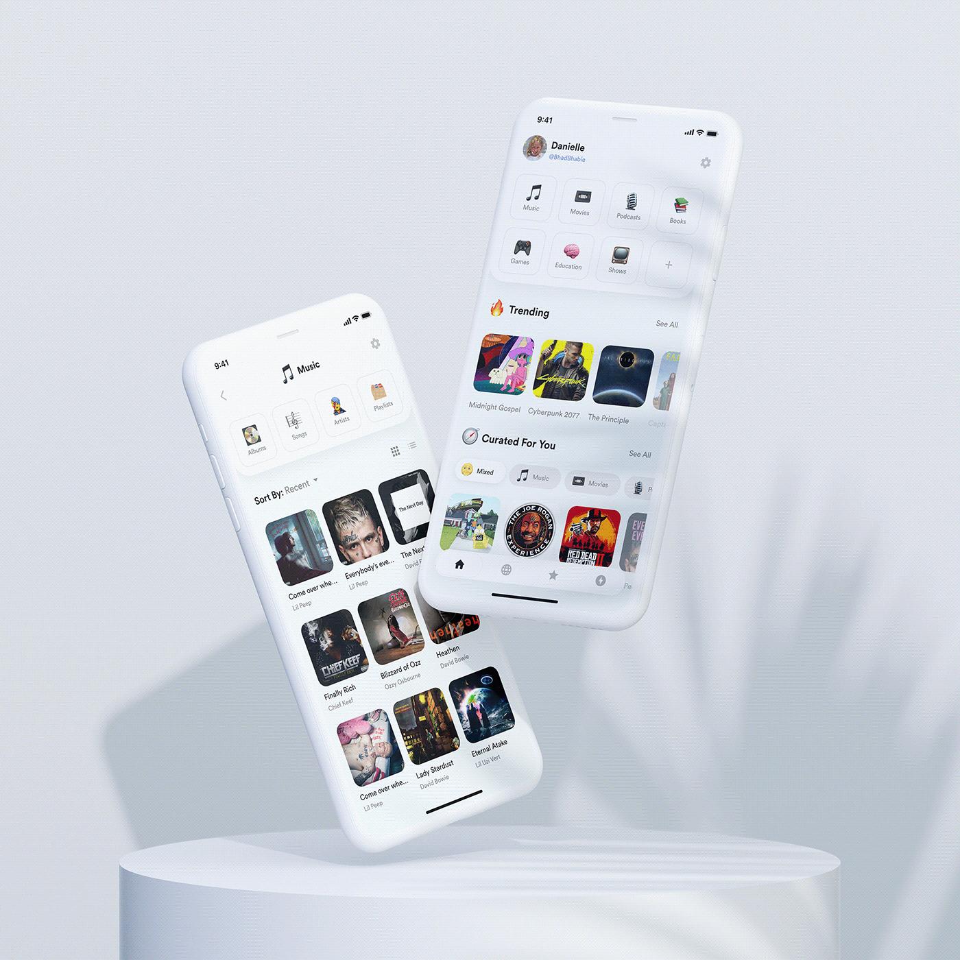 app ios UI ux