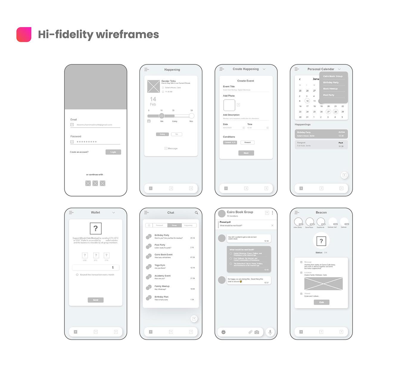 CaseStudy mobileapplication socialppsdesign uidesign uiux uxcasestudy