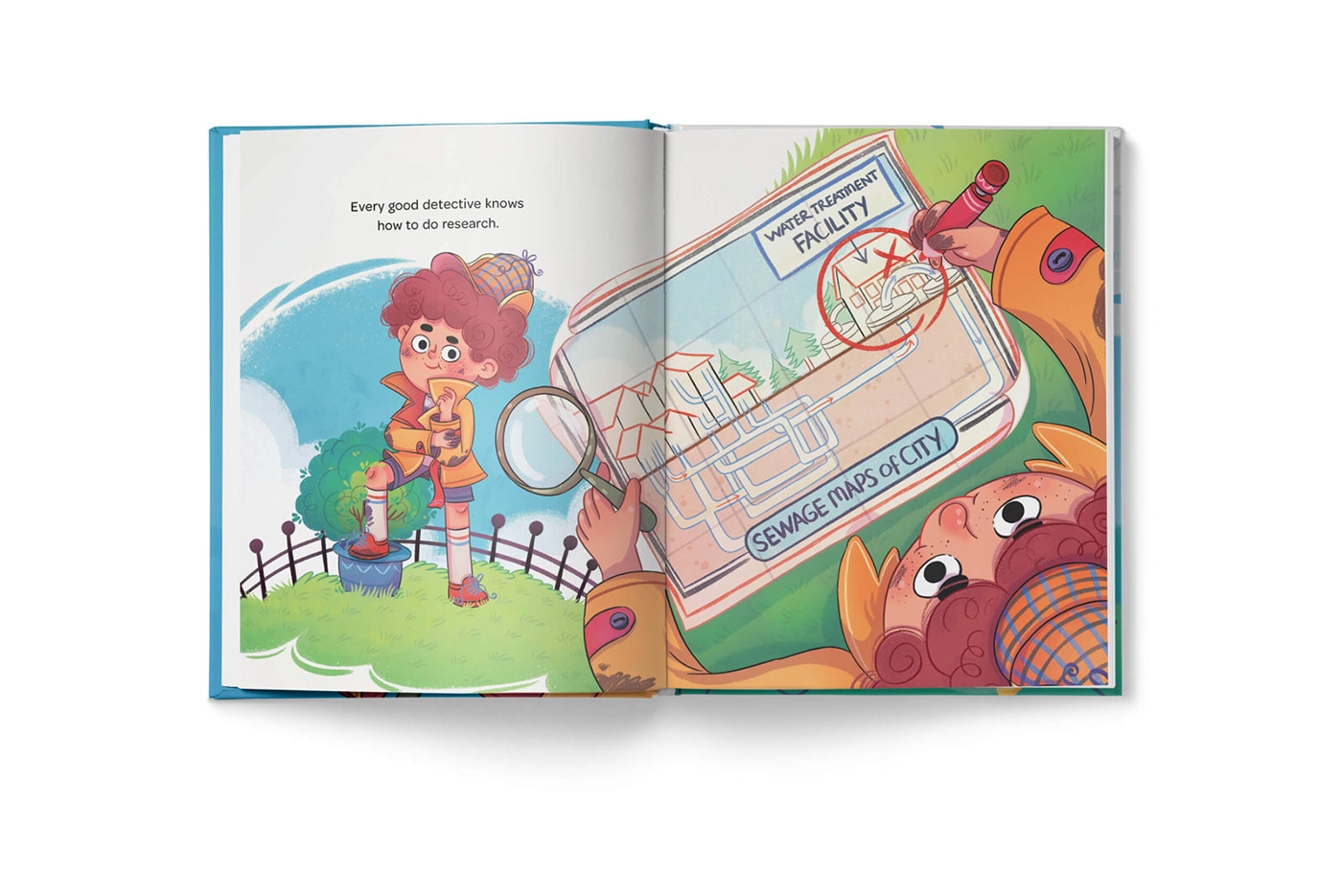 Picture book childrens book kidlit kidlitart fish storybook storyboard