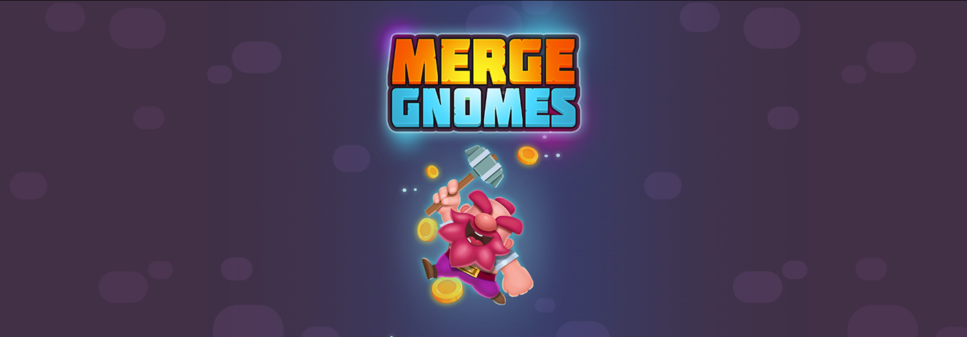 game animation  sppine gnomes Merge cutout