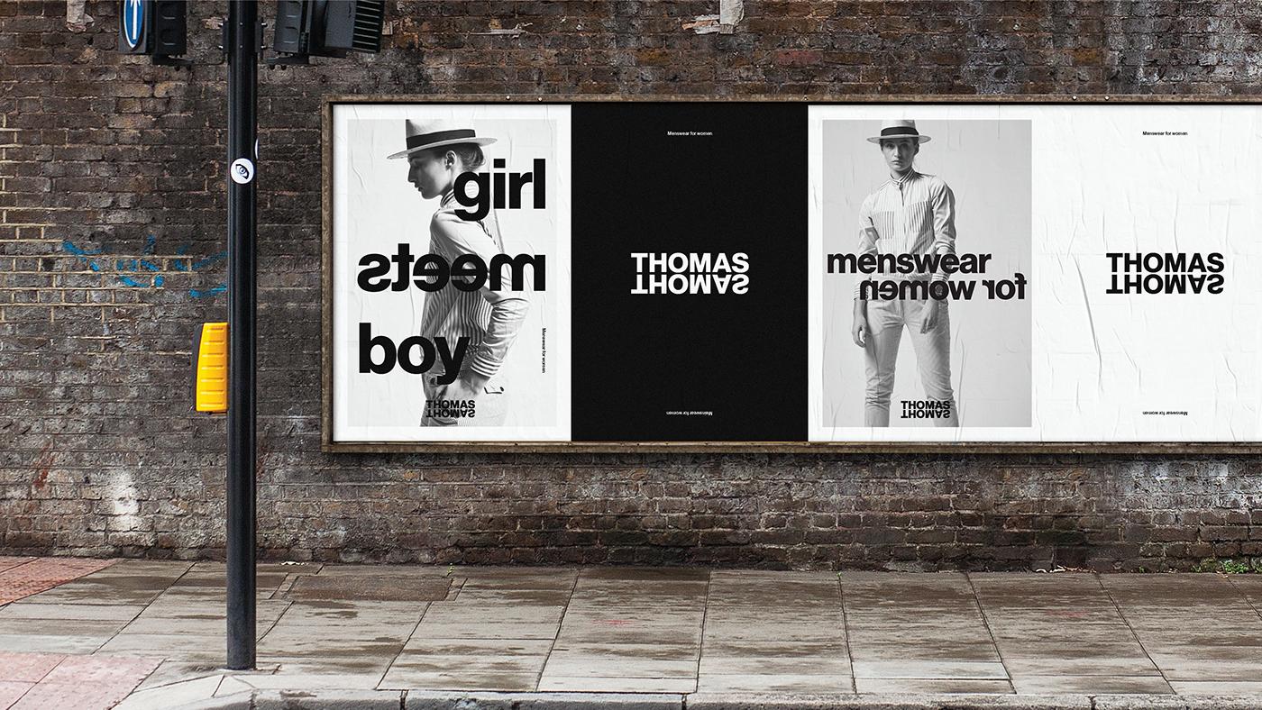 branding  graphic design  graphic typography   Fashion  identity brand identity design Gender