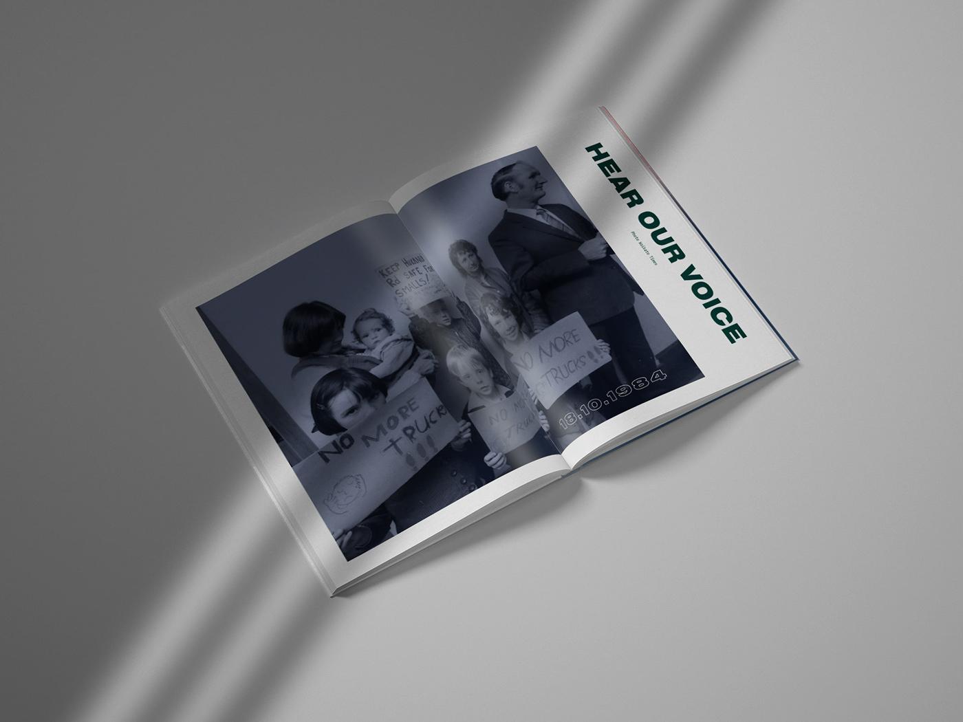 development editorial Engineering  graphic design  magazine Photography  publication