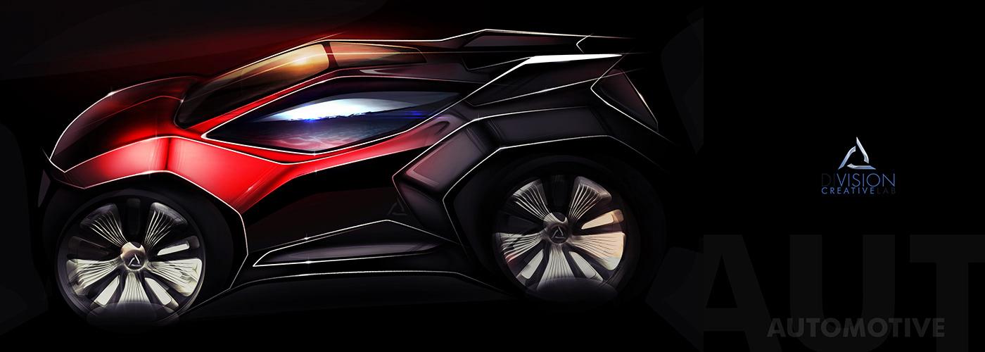 design automotive   industrialdesign transportation sketch ILLUSTRATION  car cardesign vehicledesign productdesign