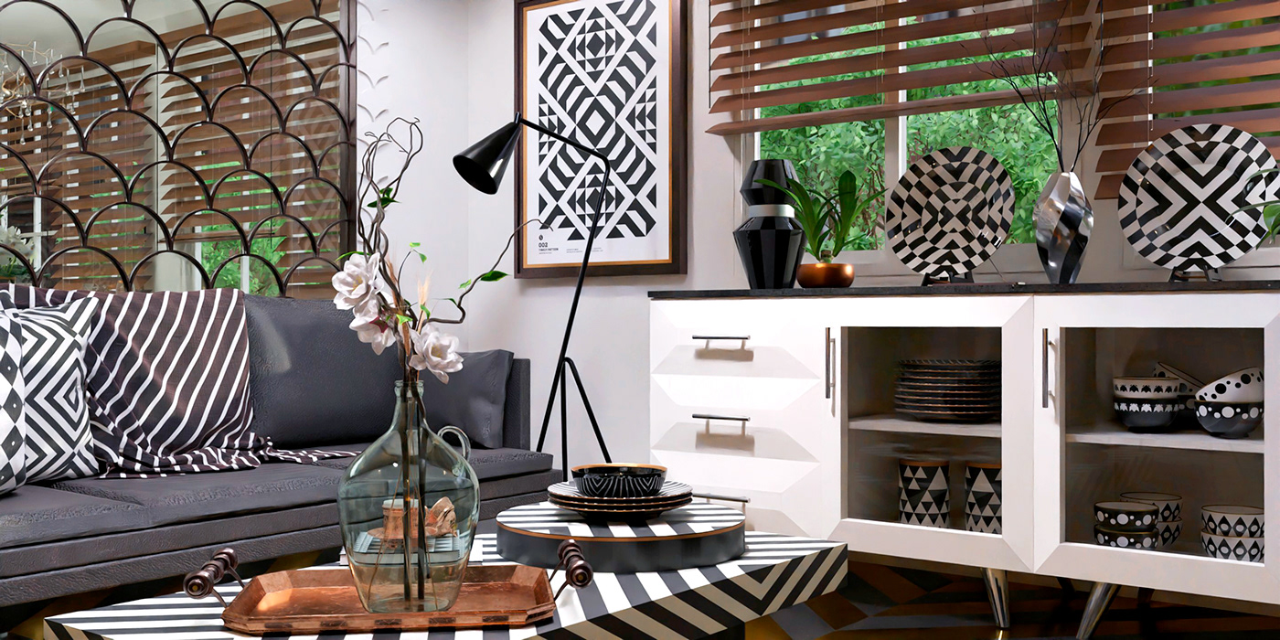 architecture concept decoration design Fashion  font modern pattern Printing typography
