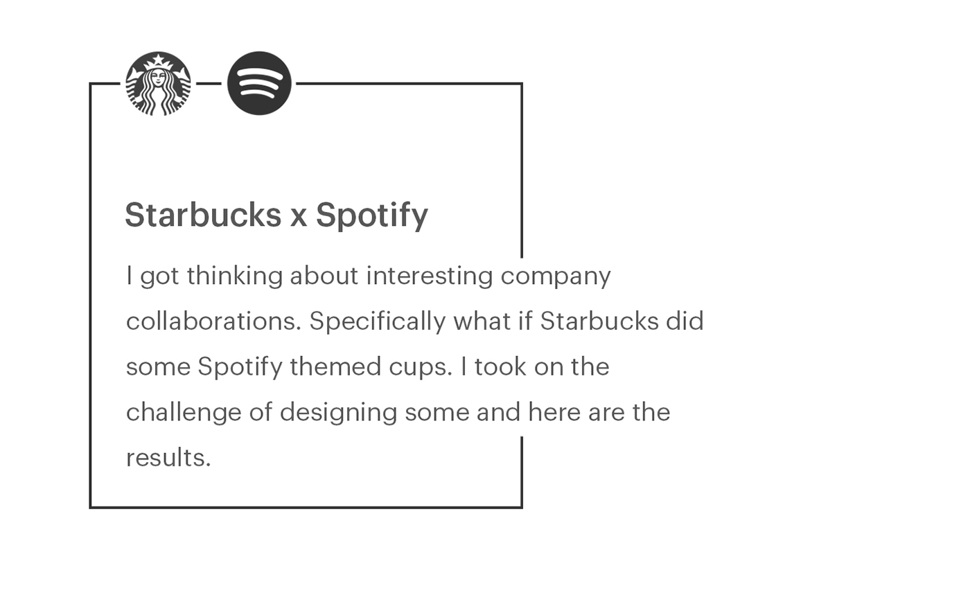spotify starbucks simple design jckly jack lalley redesign Coffee