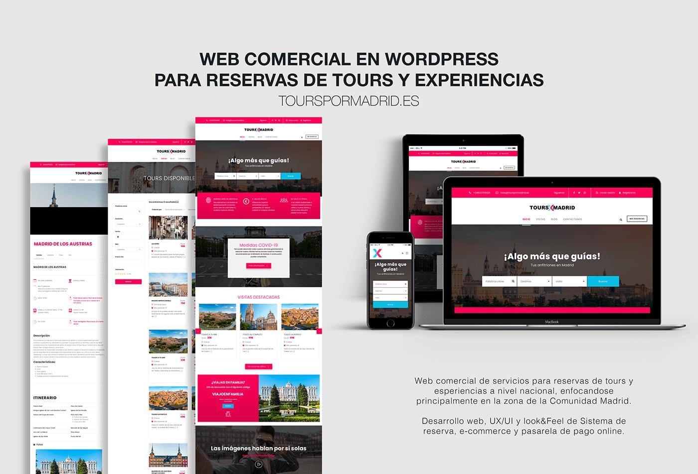 desarrollo design developer diseño gráfico Ecommerce front-end UI ux Web wordpress