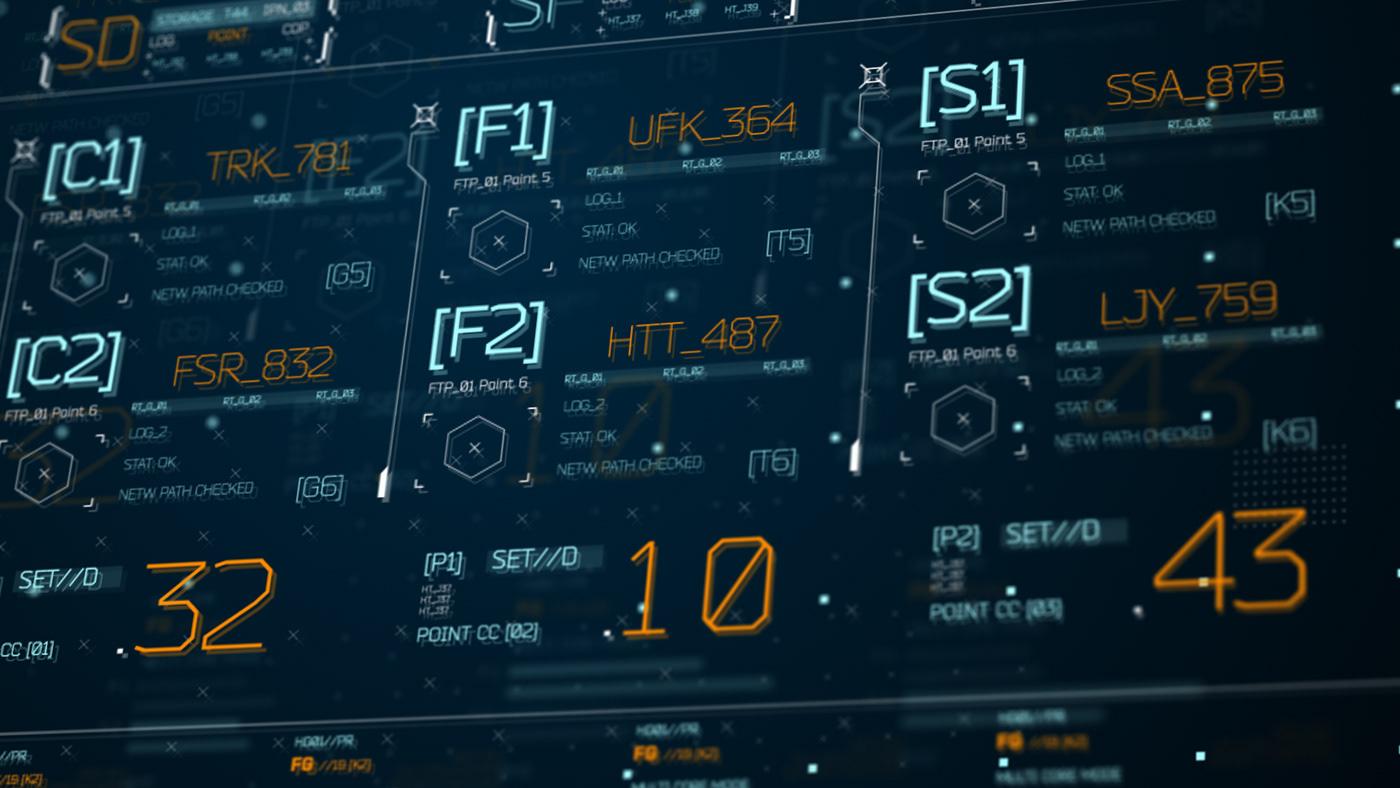 FUI HUD UI ux Interface data design future interface broadcast film data