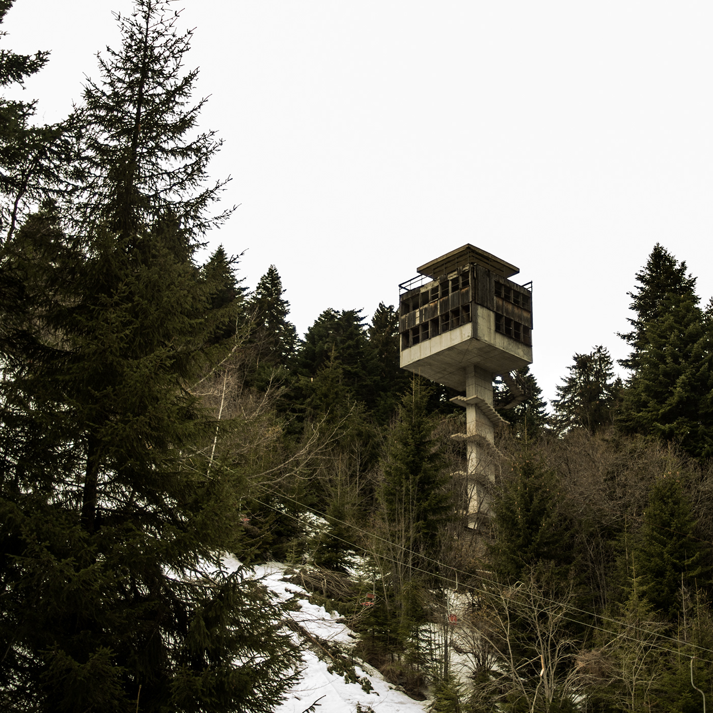 Ski Jump Tower.