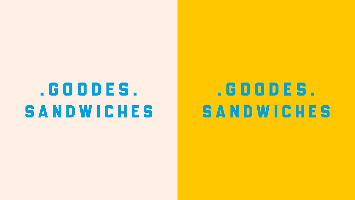 branding  business card cafe Hospitality menu restaurant Retro sandwich vhs vintage