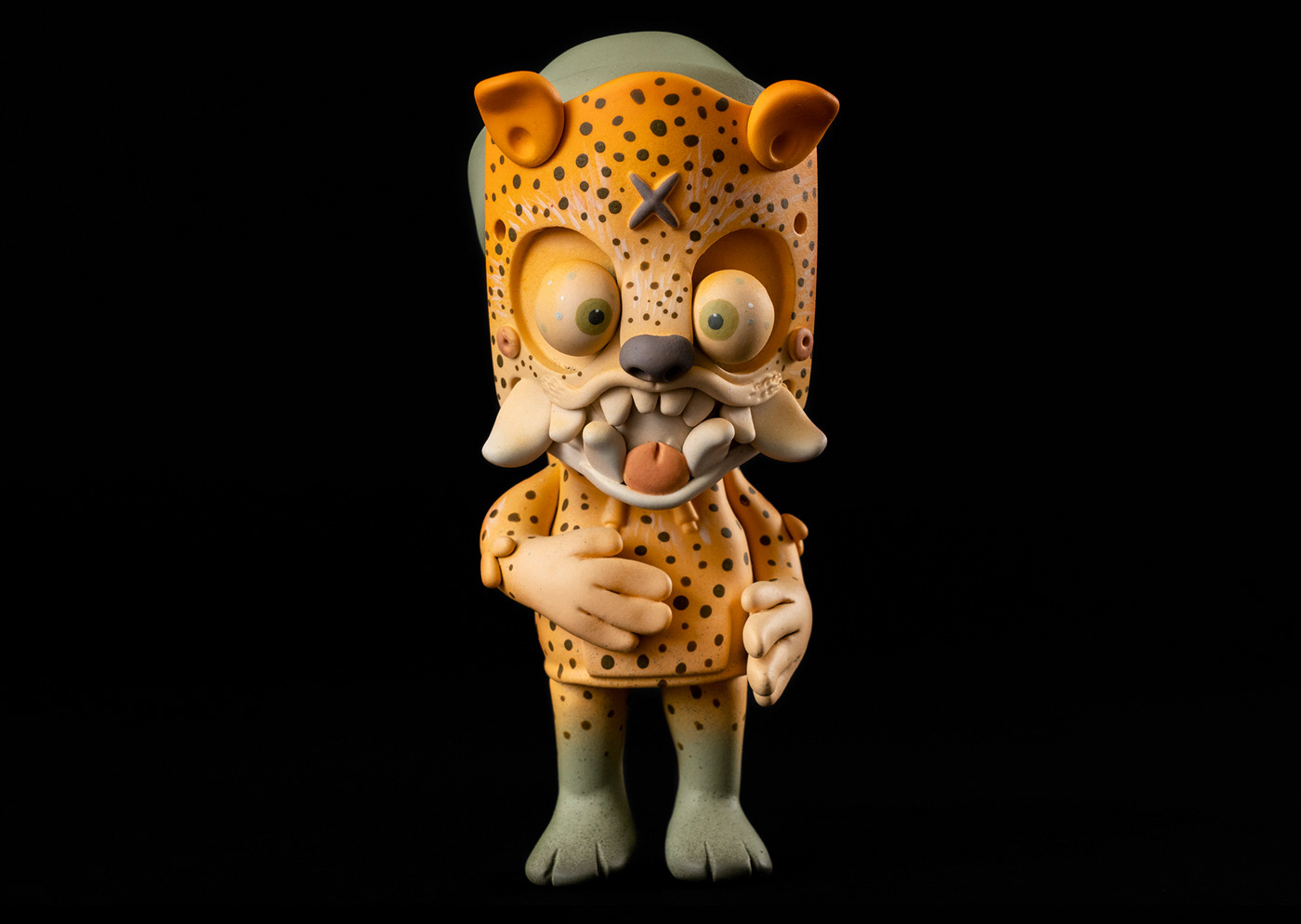 arttoy color designertoy jaguar mexicantoy modeling sculptor toy vinyl toy