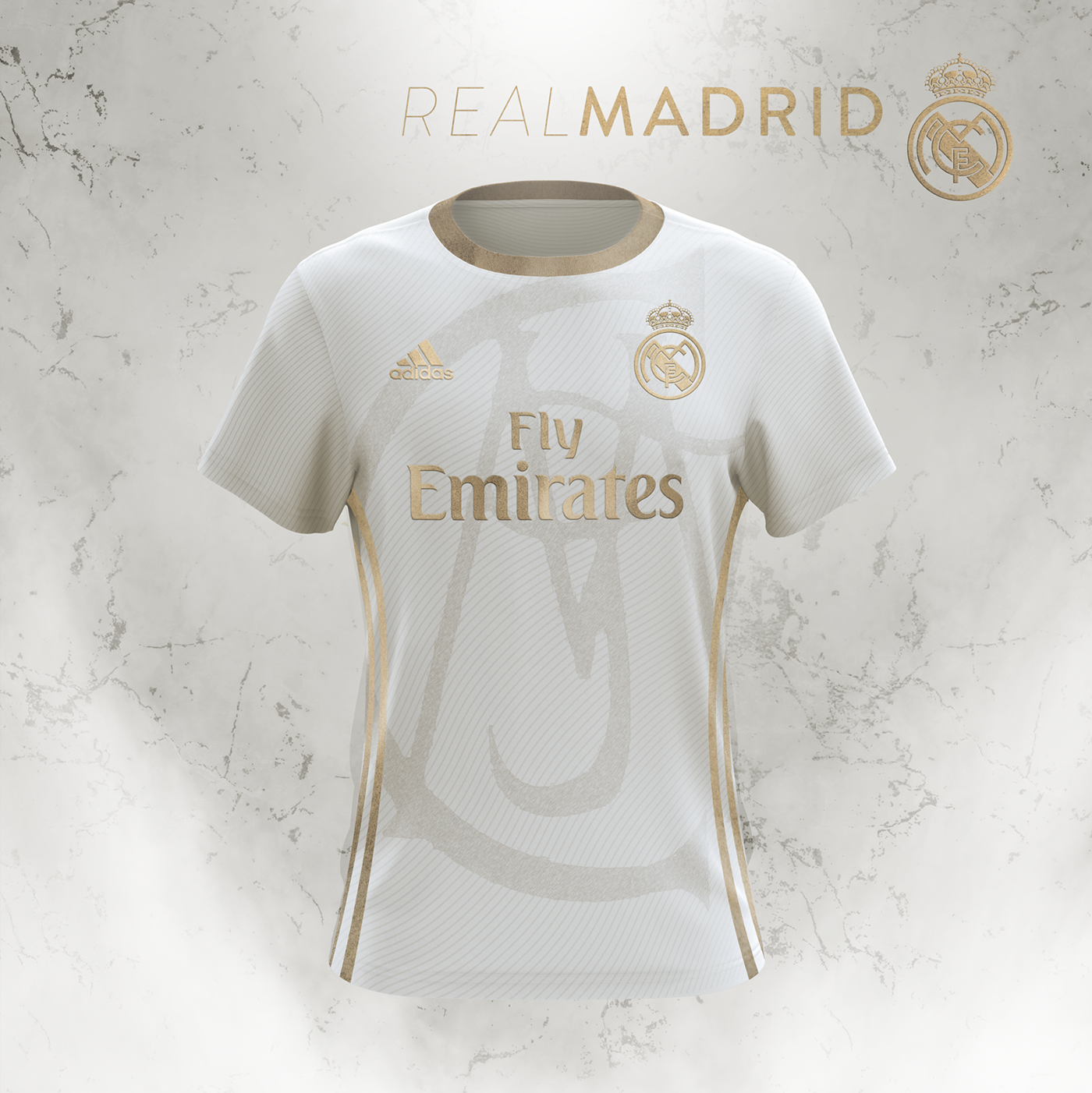 size 40 2d811 8045d Real Madrid | Gold Concept | Adidas on Behance