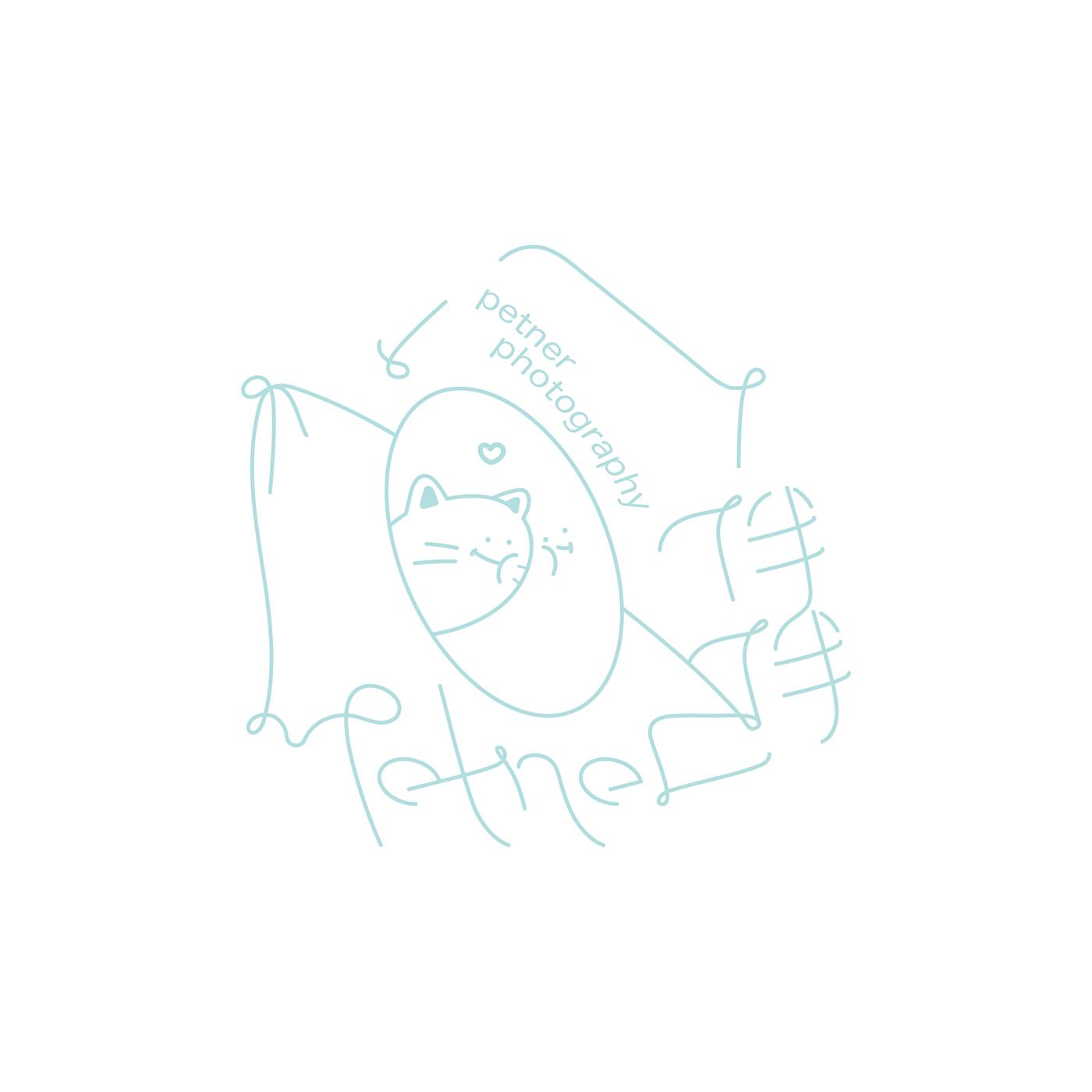 #ci #pet #petner #design #graphic #logo #logotype #cis #branding #blue #cat #Taiwan #Nantou