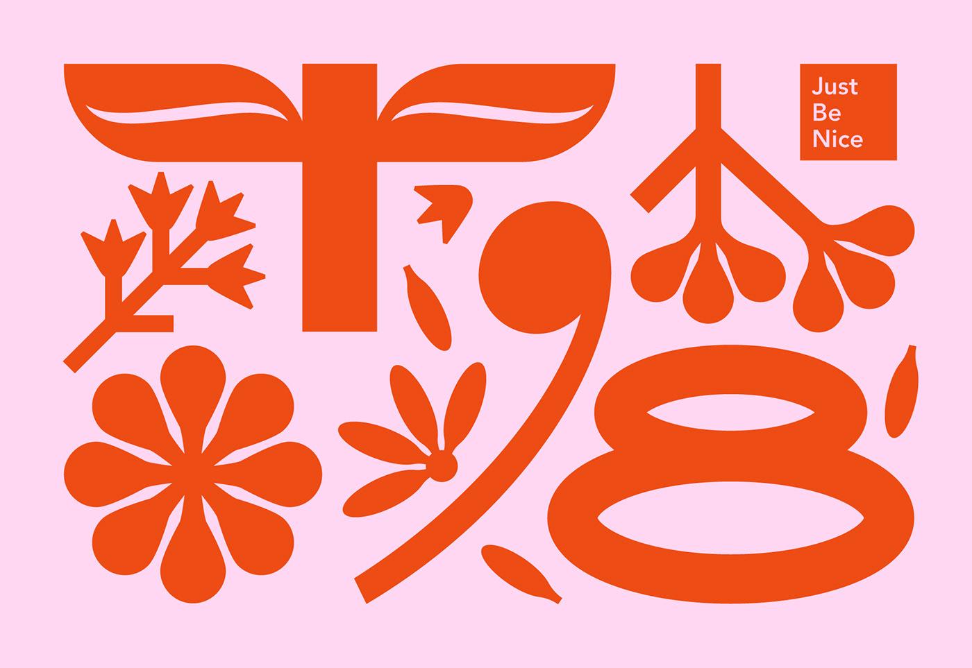 candle Flowers ILLUSTRATION  Label march8 Packaging postcard design graphic design  branding