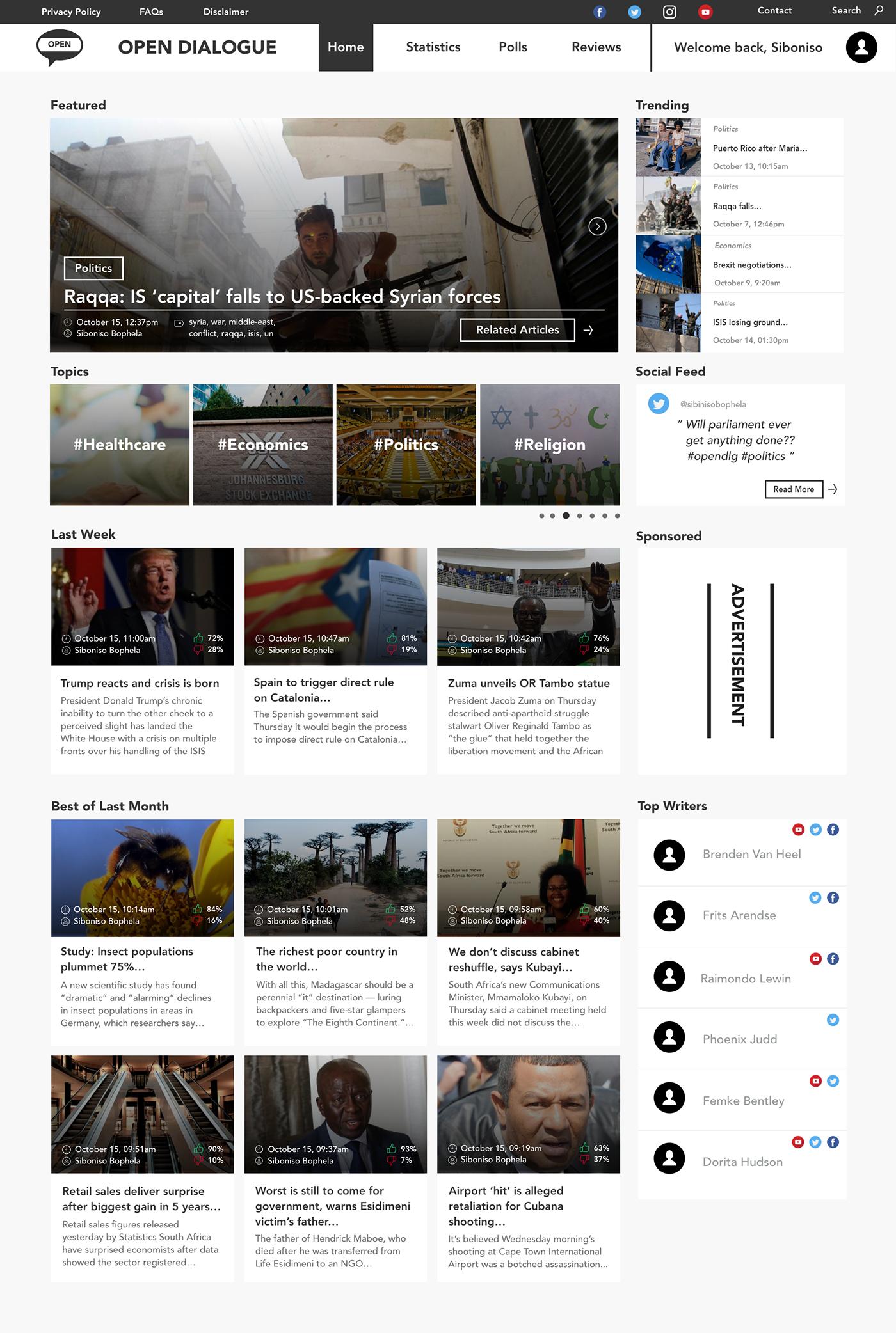 wordpress UI ux graphic design  Web Design  cape town