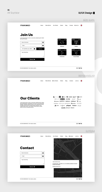 Interface,MARKAKOD,mobile,UI,ux,Web