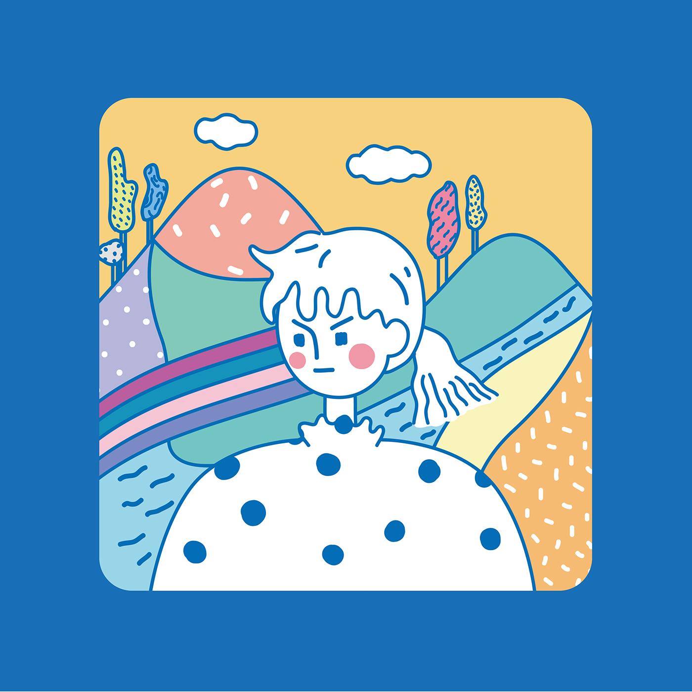 精細的45款韓國插畫欣賞