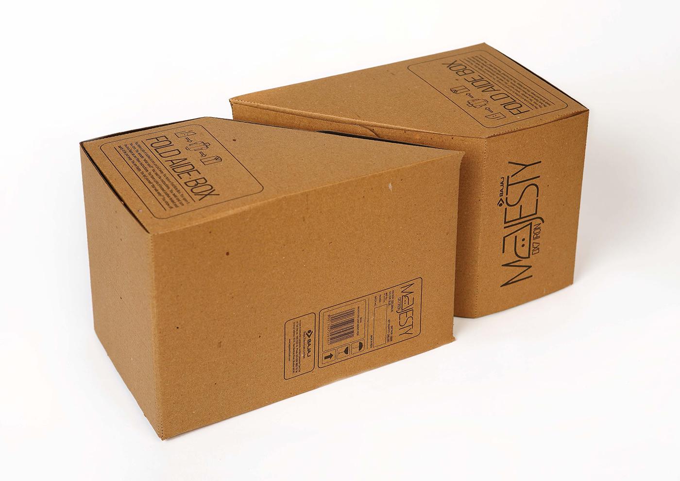 Bajaj iron fold aide box on behance for Bat box obi