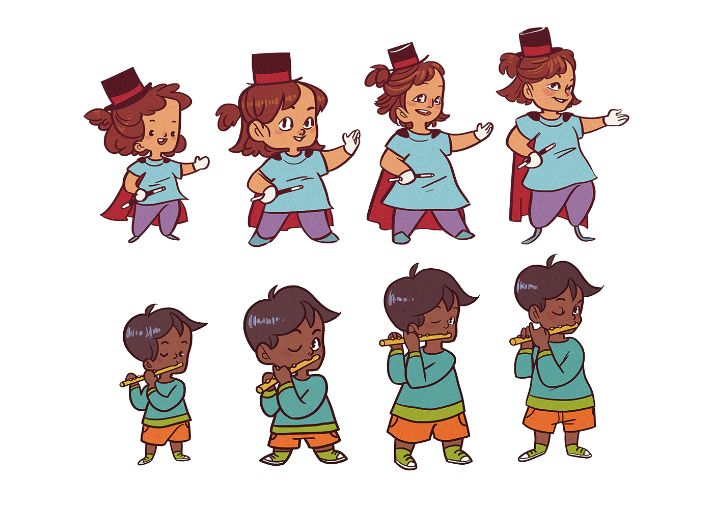 art direction  Character design  children children's app digital illustration ILLUSTRATION  Visual Development