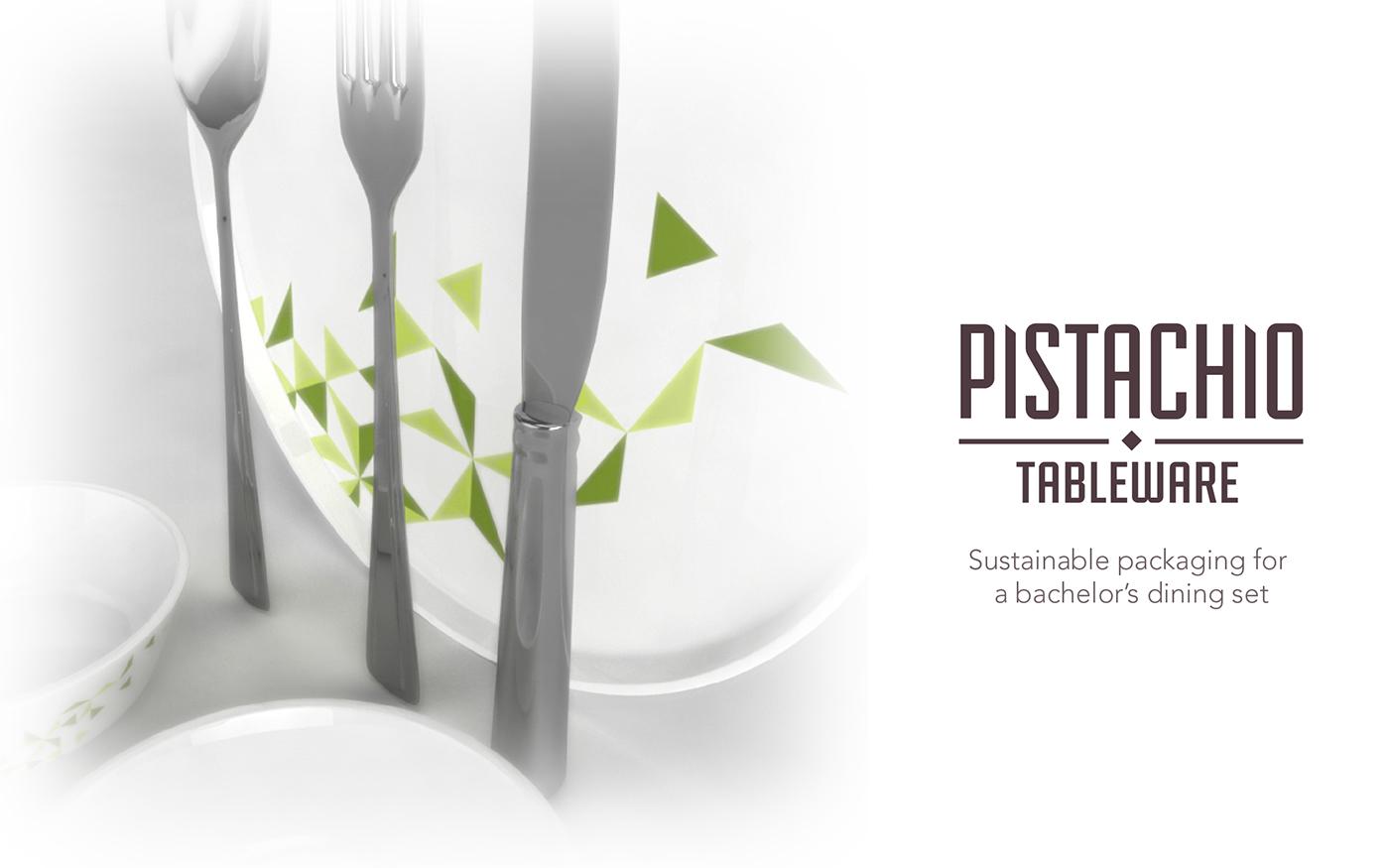有獨特感的23套餐具包裝設計欣賞
